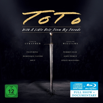 Toto - With A Little Help From My Friends (CD + Blu-ray)