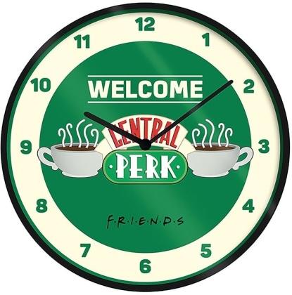 Friends Wanduhr Welcome Central Perk