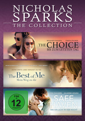 Nicholas Sparks - The Collection - The Choice / The Best of Me / Safe Haven (3 DVDs)