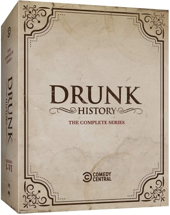 Drunk History - The Complete Series (11 DVDs)