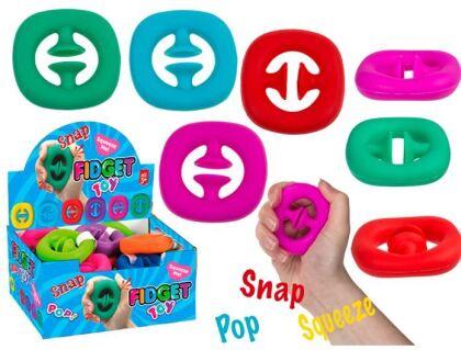 Fidget Push Snap Squeeze - 1 Stück