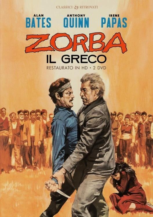 Zorba il greco (1964) (Classici Ritrovati, restaurato in HD, s/w, Special Edition, 2 DVDs)