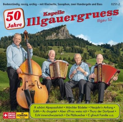 Kapelle Illgauergruess - 50 Jahre