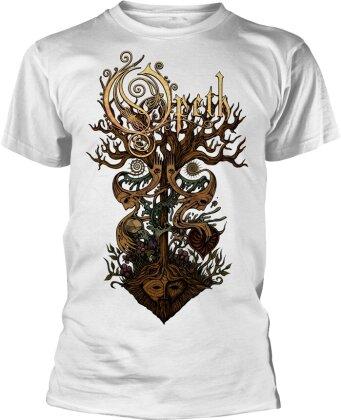 Opeth - Tree (White)