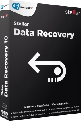 Stellar Data Recovery 10 Standard (Code in a Box)