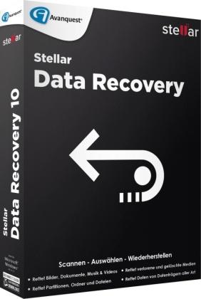 Stellar Data Recovery 10 Standard (Code in a Box)