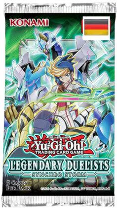 Yu Gi Oh!Booster-D-Legend. Duelist 8 36r<br>Display 36 Pack deutsch Synchro StormLegendary Duelists