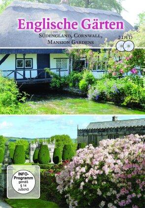 Englische Gärten - Südengland, Cornwall, Mansion Gardens (2 DVDs)