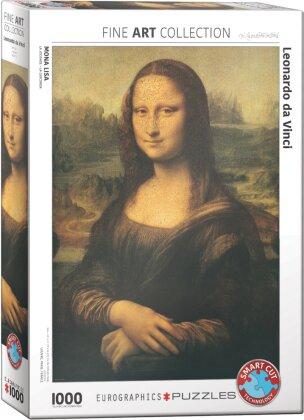 Leonardo da Vinci: Mona Lisa - 1000 Teile Puzzle