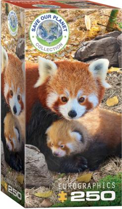 Rote Pandas - 250 Teile Puzzle