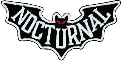 Nocturnal - Iron On Patch