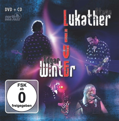 Steve Lukather & Edgar Winter - Live At North Sea Festival 2000 (CD + DVD)