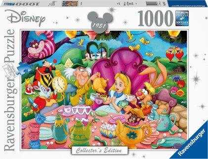 Ravensburger Puzzle 16737 – Alice im Wunderland – 1000 Teile Disney Puzzle für Erwachsene und Kinder ab 14 Jahren