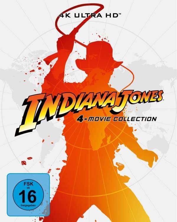 Indiana Jones - 4-Movie Collection (Édition Limitée, Steelbook, 4 4K Ultra HDs + 5 Blu-ray)