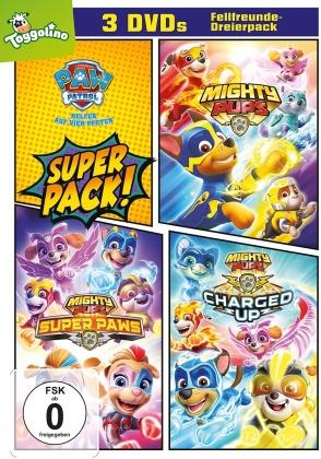Paw Patrol - Helfer auf vier Pfoten - Mighty Pups / Mighty Pups Super Paws / Mighty Pups: Charged Up! (3 DVDs)