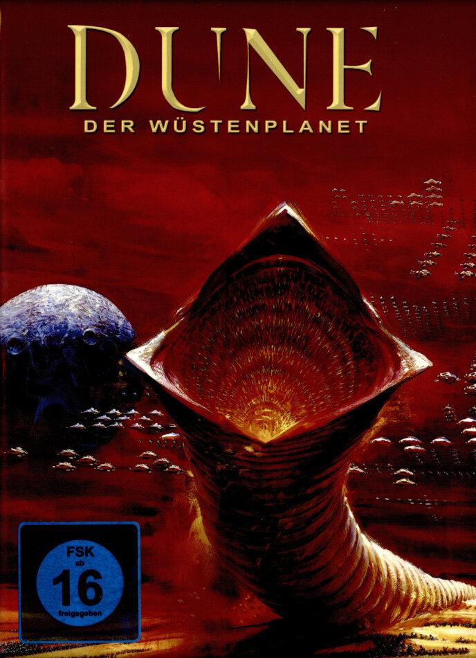 Dune - Der Wüstenplanet (1984) (Red Cover, Limited Edition, Mediabook, Blu-ray 3D (+2D) + CD)