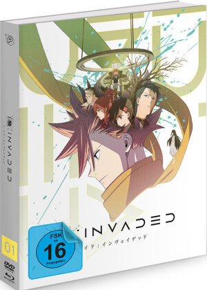 ID:INVADED - Vol. 1 (Limited Edition, Mediabook, Blu-ray + DVD)