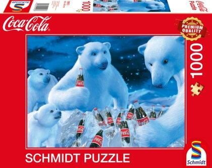 Coca Cola Motiv 1 - 1000 Teile Puzzle