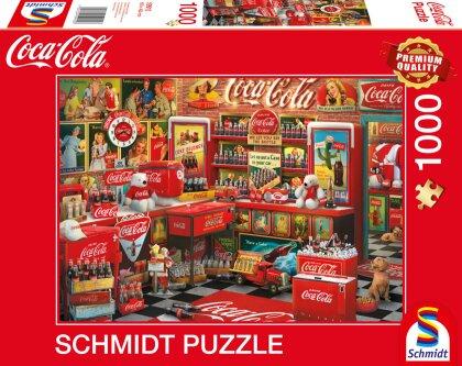 Coca Cola Motiv 3 - 1000 Teile Puzzle