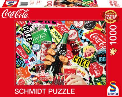 Coca Cola Motiv 4 - 1000 Teile Puzzle