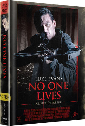 No One Lives (2012) (Cover C, Limited Edition, Mediabook, Blu-ray + DVD)