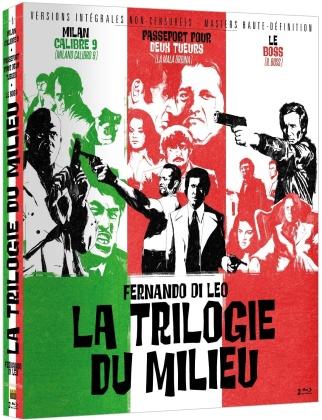 La Trilogie du Milieu - Milan calibre 9 / Passeport pour deux tueurs / Le Boss (Version intégrale non censurée, 3 Blu-ray)
