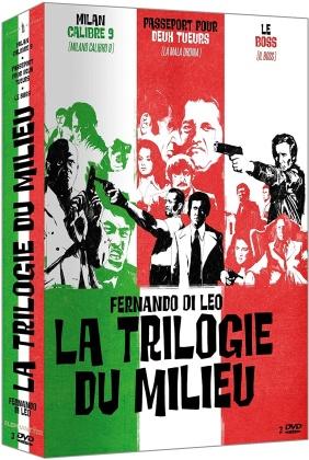 La Trilogie du Milieu - Milan calibre 9 / Passeport pour deux tueurs / Le Boss (3 DVDs)