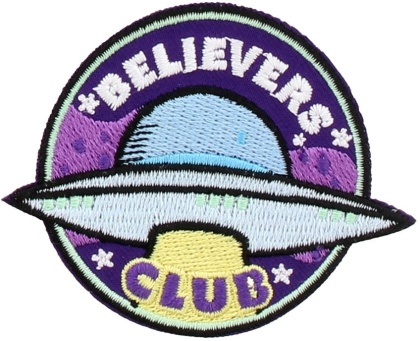 Believers Club - Iron On Patch