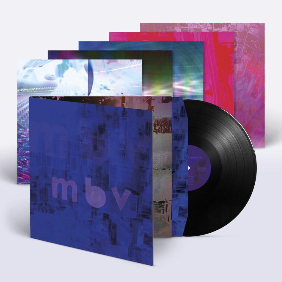 My Bloody Valentine - MBV (2021 Reissue, Black Vinyl, LP)