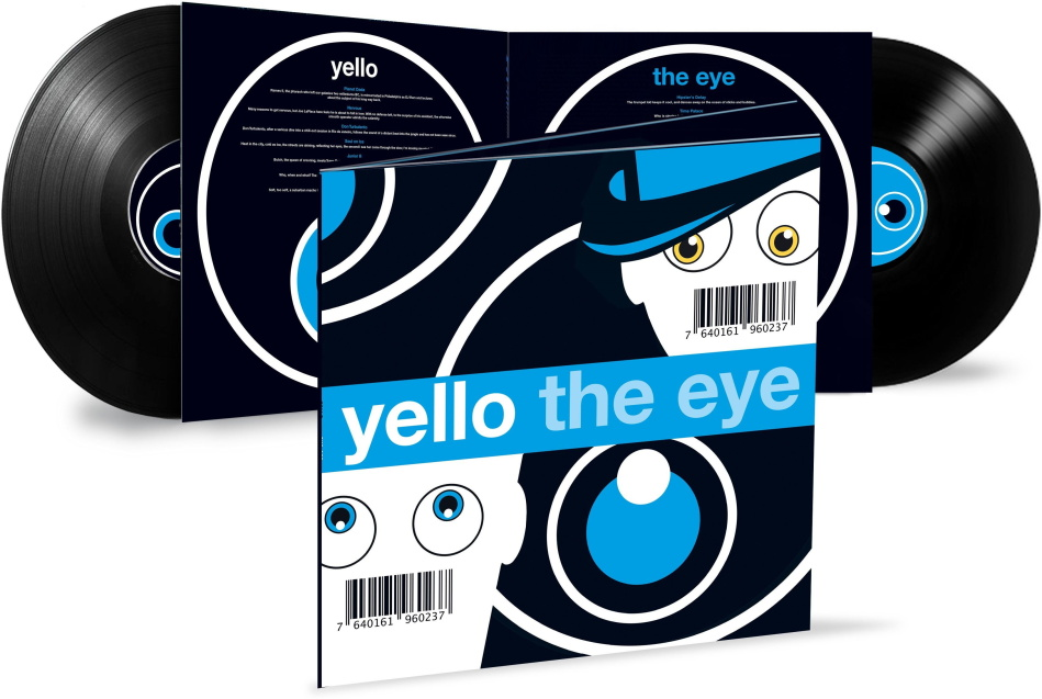 Yello - The Eye (2021 Reissue, Universal, Limited Edition, 2 LPs)