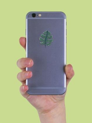 Monstera Leaf - Sticker Patch