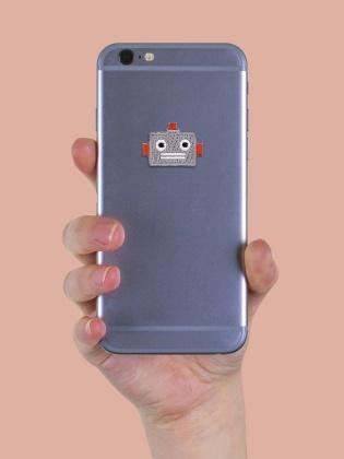 Retro Robot - Sticker Patch
