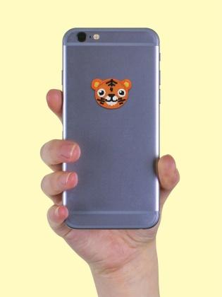 Cute Tiger - Sticker Patch