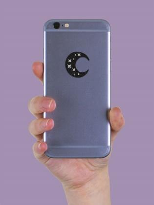 Crescent Moon - Sticker Patch