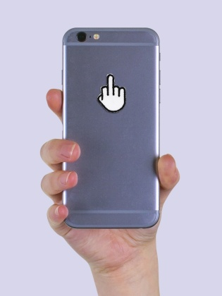 Middle Finger - Sticker Patch
