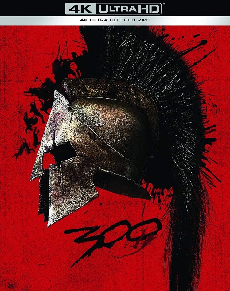 300 (2006) (Limited Edition, 4K Ultra HD + Blu-ray)