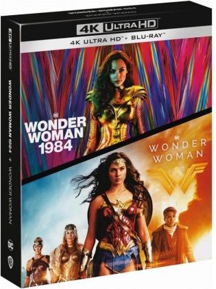 Wonder Woman (2017) / Wonder Woman 1984 (2020) (2 Blu-ray + 2 4K Ultra HDs)