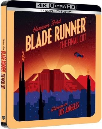 Blade Runner (1982) (Final Cut, Édition Limitée, Steelbook, 4K Ultra HD + 2 Blu-ray)