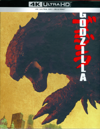 Godzilla (2014) (Schuber, Collector's Edition, 4K Ultra HD + Blu-ray)