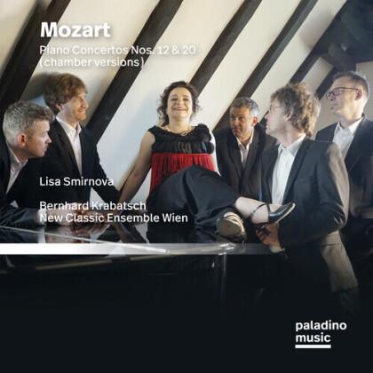 Wolfgang Amadeus Mozart (1756-1791), Bernhard Krabatsch, Lisa Smirnova & New Classic Ensemble Wien - Piano Concertos Nos. 12 & 20