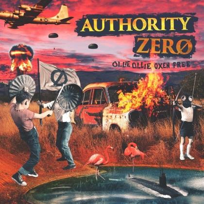 Authority Zero - Ollie Ollie Oxen Free (Digipack)