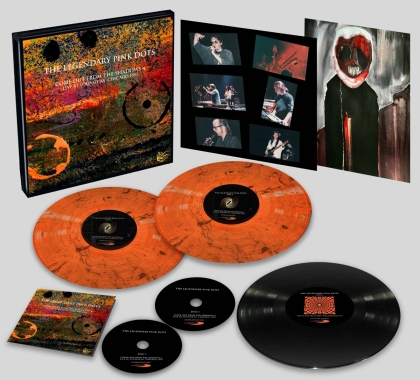 Legendary Pink Dots - Live At Lounge Ax Chicago 1993 (Oversize Item Split, Deluxe Edition, 3 LP + 2 CD)