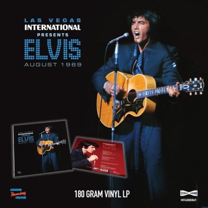 Elvis Presley - Las Vegas International Presen Elvis - August 1969 (LP)