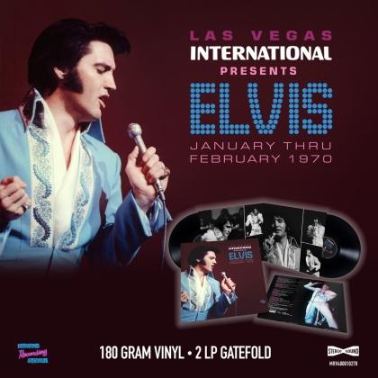 Elvis Presley - Las Vegas Intern Presents Elvis -Jan Thru Feb 1970 (2 LPs)