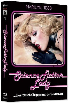 Science Fiction Lady (1981) (Rated X, Cover B, Limited Edition, Mediabook, Blu-ray + CD)