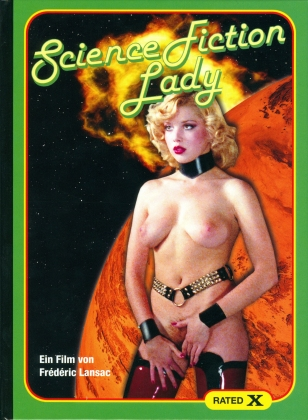 Science Fiction Lady (1981) (Rated X, Cover C, Limited Edition, Mediabook, Blu-ray + CD)