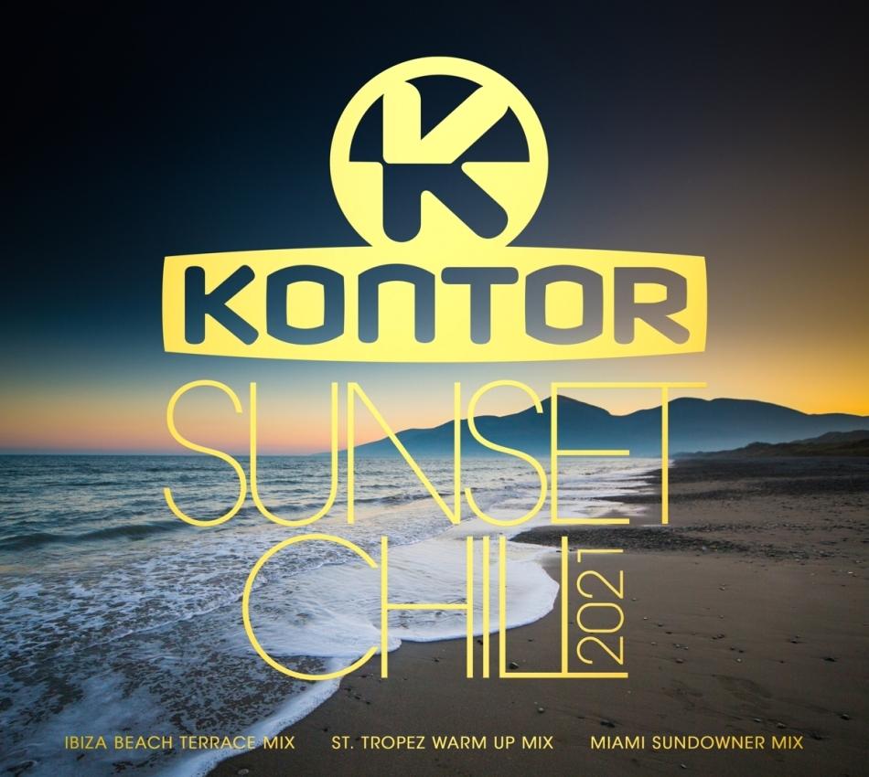 Kontor Sunset Chill 2021 (3 CD)