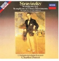 Charles Dutoit & Igor Strawinsky (1882-1971) - Symphony In C. Symphony In Three Movements (Japan Edition)