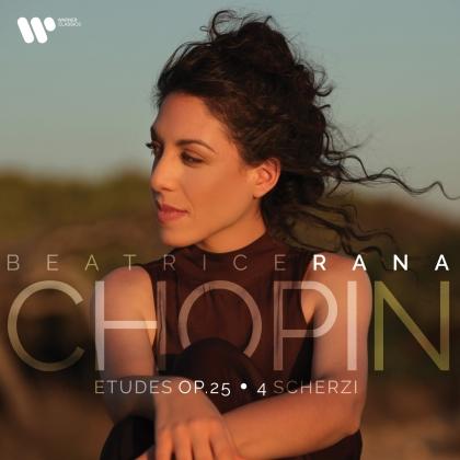 Frédéric Chopin (1810-1849) & Beatrice Rana - Etuden, op. 25 & 4 Scherzi