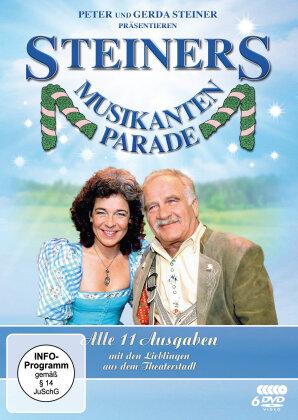 Peter Steiners Musikantenparade (Fernsehjuwelen, Gesamtedition, 6 DVDs)